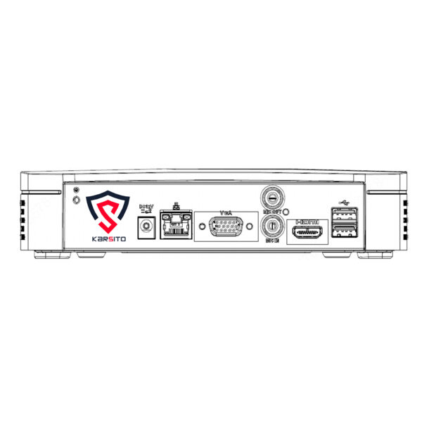 NVR1B04 شماتیک دستگاه